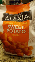 Alexia All Natural Sweet Potato Crispy Bite-Sized Puffs uploaded by Jasmine B.