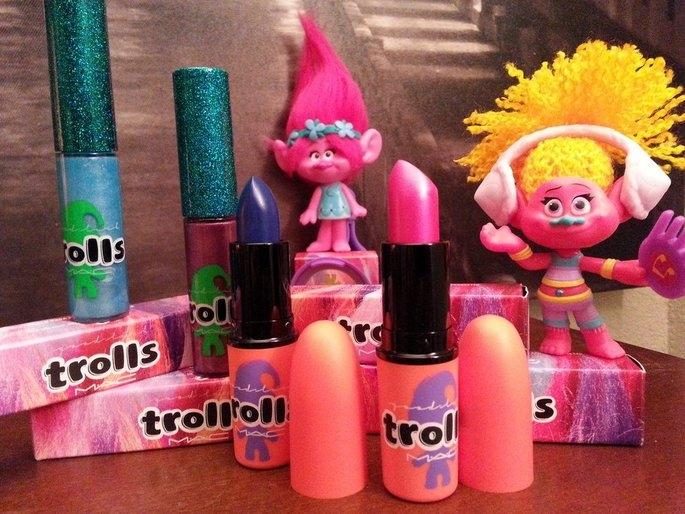 MAC Good Luck Trolls Lipstick Collection uploaded by Jennifer D.