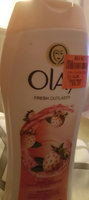 Olay Cooling White Strawberry and Mint In-Shower Body Lotion 15.2 Oz uploaded by Whitney C.