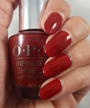 Photo of OPI Infinite Shine Nail Lacquer,Ring the Buzzer Again HRH48, 0.5 Fluid Ounce uploaded by Aparna A.
