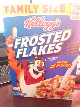 Photo of Kellogg's Frosted Flakes Cereal uploaded by Layla M.