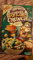 Cap'n Crunch's Blueberry Pancake Crunch™ Sweetened Corn & Oat Cereal 11.4 oz. Box uploaded by Liz W.