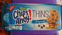 Nabisco Chips Ahoy! Thins Original Cookies 7 oz. Tray uploaded by Winnie L.