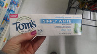 Tom's of Maine Simply White Toothpaste uploaded by Alisha H.