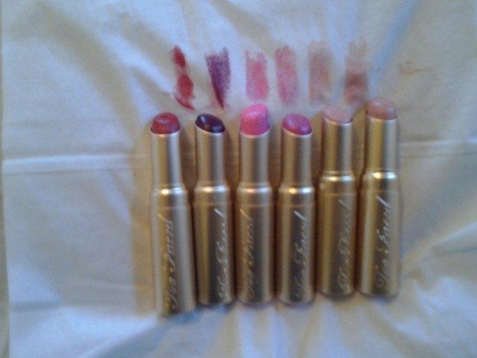Too Faced La Crème Lipstick uploaded by Jennifer B.