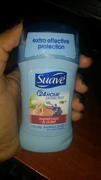 Suave® Sweet Pea & Violet Invisible Solid Anti-Perspirant Deodorant uploaded by Hillary G.
