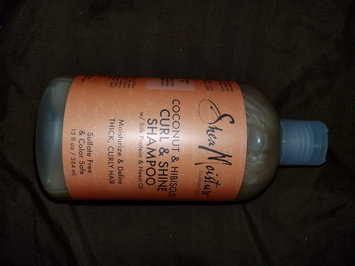 Photo of SheaMoisture Coconut & Hibiscus Curl & Shine Shampoo uploaded by Lidia R.
