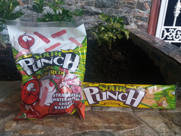 Sour Patch Sour Punch Strawberry Candy Straws uploaded by Gina R.