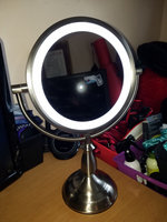 Ovente MPT85BR Multi Touch Tabletop Makeup Mirror with 3 Tone LED Light Option uploaded by Angie H.