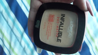 L'Oréal Paris Infallible Pro-Matte Powder Foundation uploaded by Brisa T.