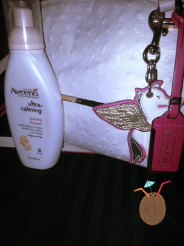 Photo of Aveeno Ultra-Calming Foaming Cleanser uploaded by c c.