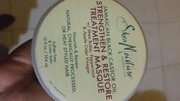 Photo of SheaMoisture Jamaican Black Castor Oil Strengthen, Grow & Restore Treatment Masque w/ Shea Butter, Peppermint & Keratin uploaded by Chantal P.