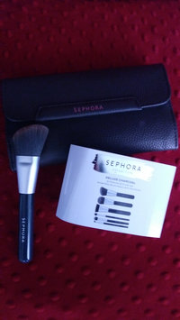 Photo of SEPHORA COLLECTION Deluxe Charcoal Antibacterial Brush Set uploaded by Vanesa A.