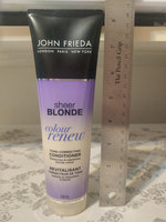 John Frieda® Sheer Blonde Colour Renew Tone-Correcting Conditioner uploaded by Lorna W.