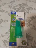 Baby Buddy Finger Toothbrush, Blue, 1 ea uploaded by Lorna W.