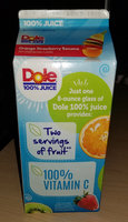 Dole Orange Strawberry Banana 100% Juice uploaded by Charnita F.