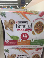 Beneful Wet Dog Food Mediterranean Style Medleys With Lamb Tomatoes Brown Rice And Spinach uploaded by Scarlett H.