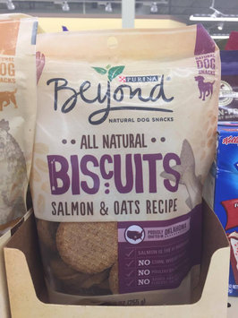 Photo of Purina Beyond All Natural Biscuits Salmon & Oats Recipe Dog Snack 25 oz. Pouch uploaded by Scarlett H.