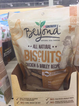 Purina Beyond All Natural Biscuits Chicken & Barley Recipe Dog Snack 9 oz. Pouch uploaded by Scarlett H.