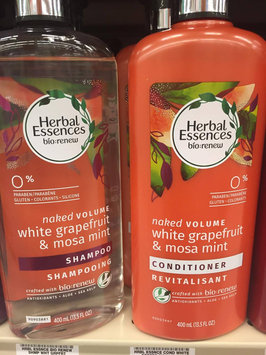 Herbal Essences bio:renew Naked Volume White Grapefruit & Mosa Mint Conditioner uploaded by Scarlett H.