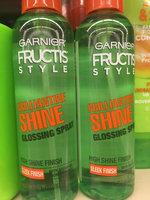 Garnier Fructis Style Brilliantine Shine Glossing Spray uploaded by Scarlett H.
