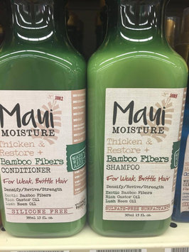 Photo of Maui Moisture Thicken & Restore Bamboo Fibers Shampoo uploaded by Scarlett H.