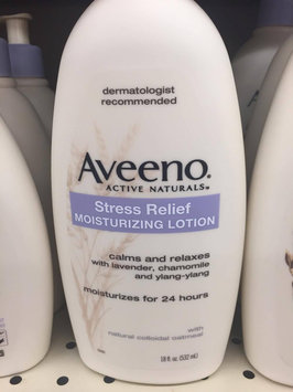 Photo of Aveeno Stress Relief Moisturizing Lotion uploaded by Scarlett H.
