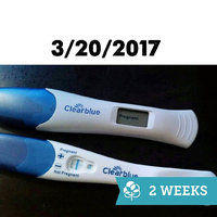 Clearblue Rapid Detection Pregnancy Test uploaded by Megan C.