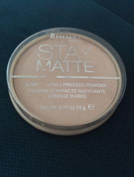 Rimmel London Stay Matte Pressed Powder uploaded by Wafa F.
