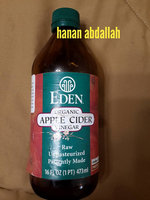 Eden Foods Organic Apple Cider Vinegar, 32 Ounce -- 12 per case. uploaded by Soukaina M.