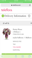 Teleflora Flower Delivery uploaded by Kate N.