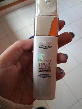 Photo of L'Oréal Paris Revitalift Bright Reveal SPF 30 Moisturizer uploaded by Dayana L.