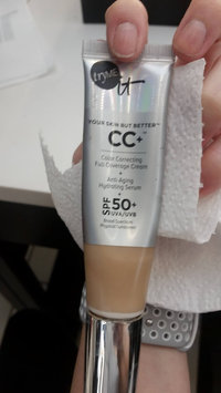 Photo of It Cosmetics CC+ Eye Color Correcting Full Coverage Cream Concealer SPF 50+ uploaded by Jessica J.