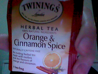 Twinings® OF London Orange & Cinnamon Spice Tea Bags uploaded by alisha s.