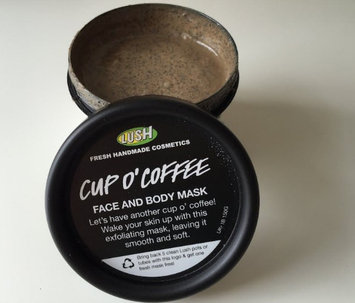 Photo of LUSH Cup O' Coffee Face and Body Mask uploaded by elaa D.