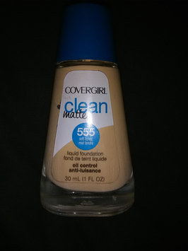 Photo of COVERGIRL Clean Matte Liquid Foundation uploaded by Domina M.