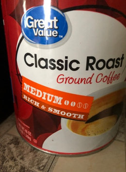 Photo of Great Value Classic Roast Medium Ground Coffee, 48 oz uploaded by Shawna T.
