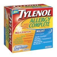 Photo of Tylenol Allergy Multi-Symptom Day & Night Combination Pack Caplets, Cool Burst 24 ea uploaded by April T.