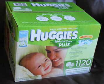 Photo of Huggies® Natural Baby Care Wipes uploaded by karima l.