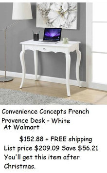 Guidecraft Classic Vanity and Stool, White, 1 ea uploaded by La-Sweet M.