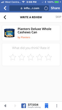 Photo of Planters Deluxe Whole Cashews Can uploaded by Pamela B.