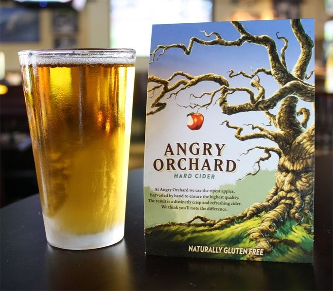 Angry Orchard Cider  uploaded by Maria M.