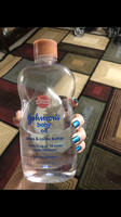 Johnson's® Baby Oil Shea and Cocoa Butter uploaded by Christen T.