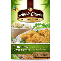 Annie Chun's Inc Annie Chun's Chicken & Cilantro Mini Wontons, 8-Ounce (Pack of 9) uploaded by Renn J.