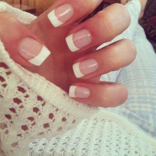 Kiss Everlasting French Pearl French Tip Nails Real Short Length - 28 CT uploaded by Miss J.