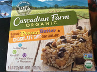 Cascadian Farm Organic Protein Peanut Butter Chocolate Chip Chewy Bars uploaded by jill s.