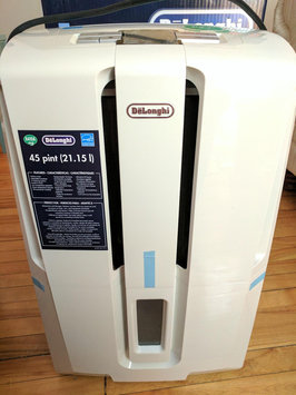 Photo of DeLONGHI Energy Star 45-pint Dehumidifier White uploaded by Lorna W.
