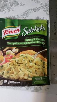 Knorr® Menu Flavors Cheesy Spinach Dip Pasta Sides™ 4.1 oz. Pouch uploaded by Lorna W.