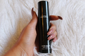 Photo of MAC Cosmetics Prep + Prime Natural Radiance uploaded by kiara b.