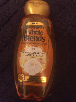 Photo of Garnier Whole Blends®  Illuminating Shampoo with Moroccan Argan and Camellia Oils Extracts uploaded by Amber B.